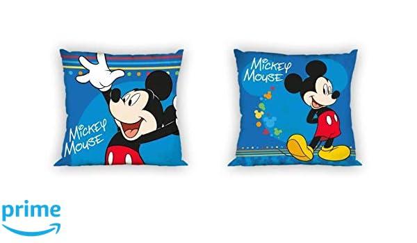 Unbekannt Disney - Cojín (40 x 40 cm), diseño de Mickey ...