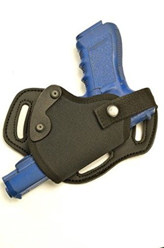 Tri-slot SOB/Pancake Combo Concealed Carry Freedom Holster - Fits Medium to Large Handguns- Glock 19, 23, 17, 22, Kimber Carry and Ultra-carry, Colt 1911, Beretta 92 and Similar Size Handguns