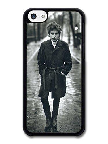 Bob Dylan Black & White Portrait Singer coque pour iPhone 5C