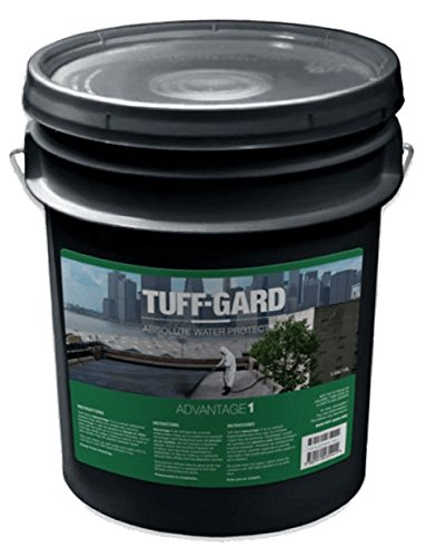 Advantage 1-5 Gallon - Multi-Purpose - Worlds Best - Waterproof Sealant - Coating - Sealant - Concrete - Stone - Metal - Foam - Wood - Flat Roof - Foundation - Rust Stop - Seam & Crack Fill - No VOC