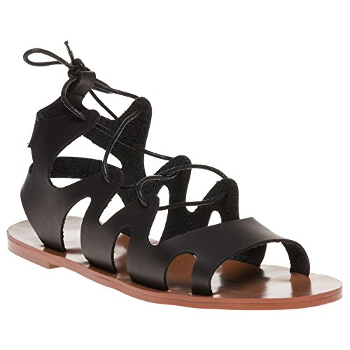 Sole Crystal Sandals Black Black