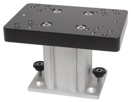 Cannon 4-Inch Aluminum Fixed Base Pedestal Mount