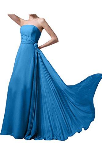Missdressy - Robe - Plissée - Femme -  bleu - 50
