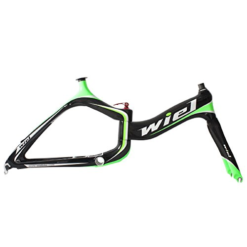 Wiel B055 Carbon Fiber 20in City Bike Frame Folding Bike Fra