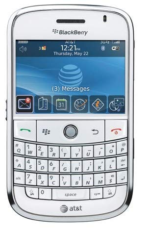 BlackBerry Bold 9000 Unlocked Phone with 2 MP Camera, 3G, Wi-Fi, GPS, and MicroSD Slot - White (Renewed) (The Best Blackberry Phone)