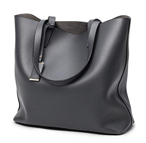 pengweiLas se?oras simples de la manera empaquetan el bolso del hombro del bolso , gray Blue