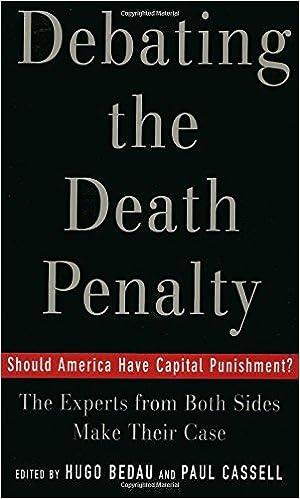 capital punishment debate essay