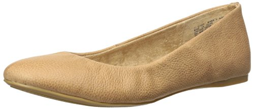 G.H. Bass & Co. Women's Felicity Ballet Flat, Brown, 9.5 M ()