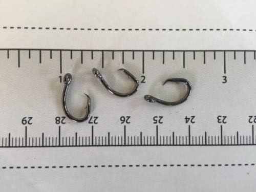 100 GT 2X L2004 Offset Circle Fish Fishing Hooks size 1//0-100 hooks L2004