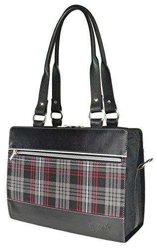 Wechselcover Handtasche, Body mit Cover Schottensache, auswechselbare Handtasche