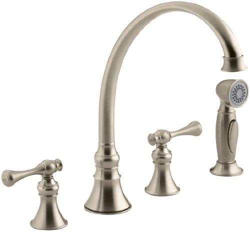 KOHLER K-16109-4A-BV Revival Kitchen Sink Faucet, Vibrant Brushed Bronze