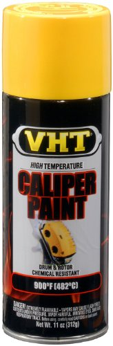 (VHT (SP738-6 PK Bright Yellow High Temperature Brake Caliper Paint - 11 oz. Aerosol, (Case of 6))