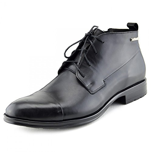 Giatoma Niccoli Casual Genuine Leather Black Desert Mens Shoes Black
