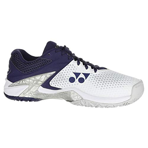 Yonex Power Cushion Eclipsion 2 Mens Tennis Shoe (9.5) White/Navy