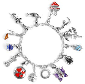 Bettelarmband  Charms Bettelarmband - 19 cm Armband von Collangé Jewelry®: Amazon ...