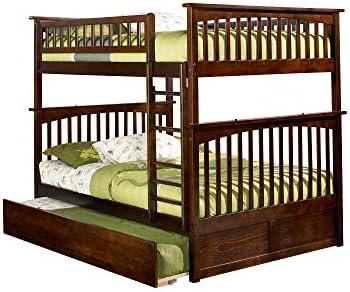 Atlantic Furniture Columbia Bunk Bed Full Over Full