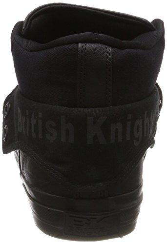 British Homme Hautes Black Black Knights Baskets Schwarz Roco rxwnrI8