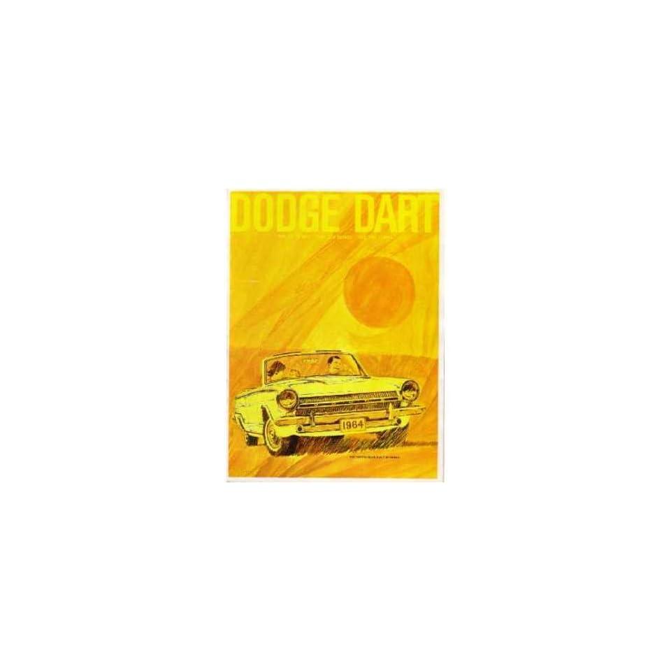 1964 DODGE DART Sales Brochure Literature Book Automotive