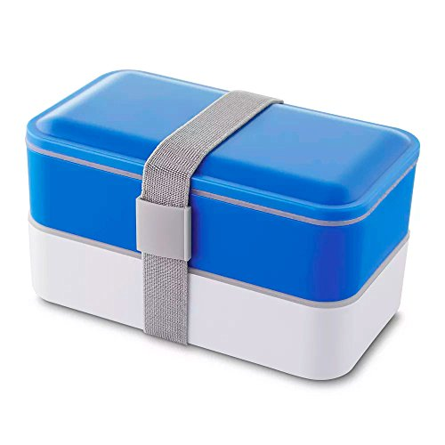Lancheira com Elástico Healthy TopGet - Azul