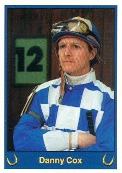 Danny Cox trading card (Horse Racing) 1999 Jockey Star