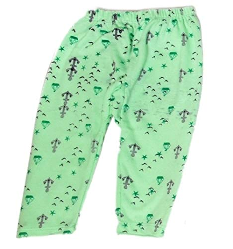 Golazo Premium Unisex 100% Pure Cotton Daiper Fit Bottom Baby Pyjamas Lowers for Kids Toddlers, Pack of 10
