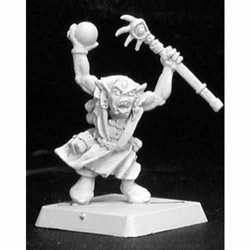 Reaper Lunk Reven Mage Miniature 25mm Heroic Scale Warlord Miniatures