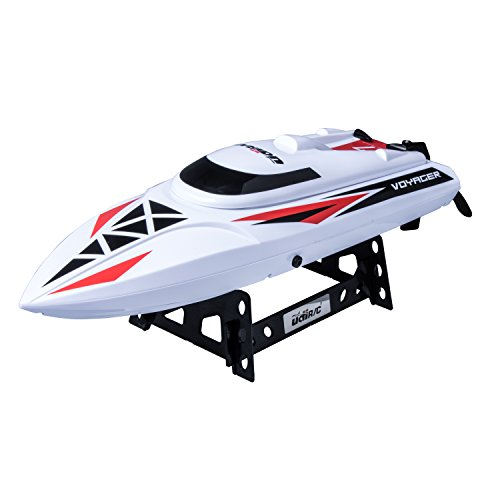 UDI007 Remote Control Boat: for Pool & Outdoor Use- RC Racing Boat with Remote Control High-Speed Series RC Boats for Adults & Kids + Bonus Battery