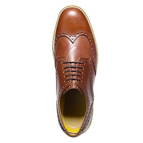 Cole Haan Men's Original Grand Wtip Oxford, Woodbury/Ivory, 8 M - Mens Vegas Fashion
