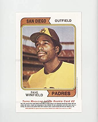 Amazoncom Dave Winfield Baseball Card 1993 Topps