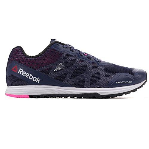 Reebok Crosstrain Sprint 3.0 Femmes Fitness Baskets Chaussure Bleu Marine/ Rose