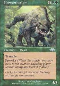 (Magic: the Gathering - Brontotherium - Legions - Foil by Magic: the Gathering)