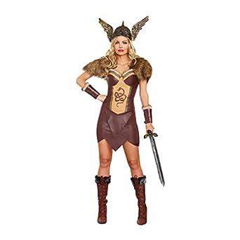 26bb8bbc Dreamgirl Women's Voracious Viking Costume