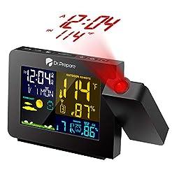 Dr. Prepare Projection Alarm Clock for B...