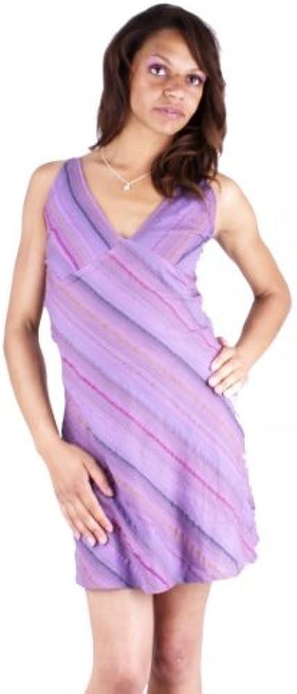 RANA-vestido de verano corto de tirantes 100% algodón, diseño de ...