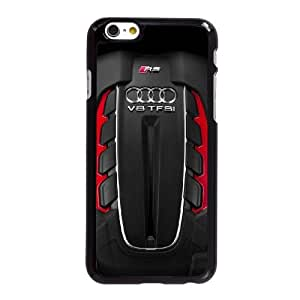 Audi RS6 funda iPhone 6 6S Plus 5.5 pufunda LGadas del teléfono celular funda X6M6FJGESW negro
