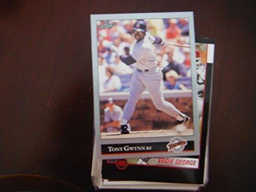 - Tony Gwynn San Diego Padres 1992 Leaf #206 Baseball Card