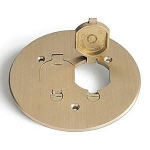 Lew Electric TCP-2-LR Floor Box, 5-3/4
