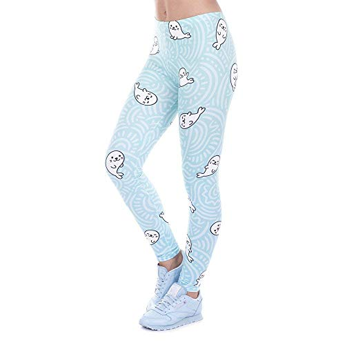 Rosa Donna Leggings Pantaloni Stampato Yoga Leggins Vita Lga43459 Di Legging Slim Fashionable Avocado Legins Targogo Alta pFUqgw4