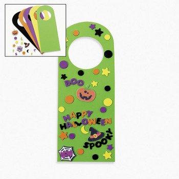 Halloween Friends Doorknob Hanger Craft Kit for $<!--$31.99-->
