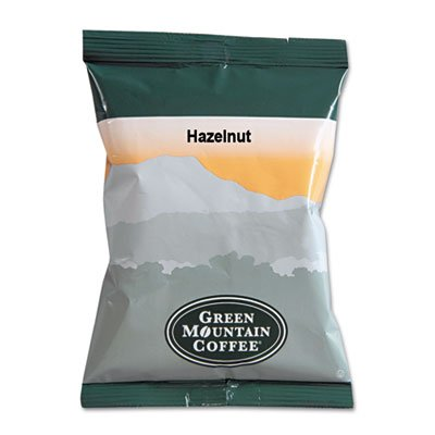 Green Mountain Hazelnut Coffee, Fraction Packs, 2.2oz., 50/CT, GN by Green Mountain Coffee