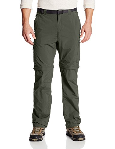 Columbia Mens Silver Ridge Convertible Pant Gravel 32 x 34