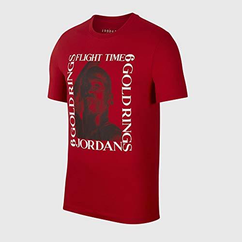 (Jordan Air AO0690-687: Men's MJ Flight Time Gym Red/Black/White Sneaker (L))