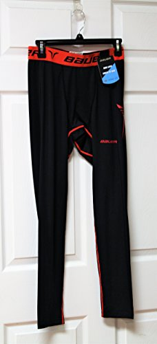 Bauer Core Compression Base Layer Youth Pants Size Medium