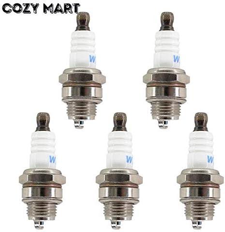 [해외]Corolado Spare Parts 5X Spark Plug for 2 Stroke Engine 25Cc 45Cc 52Cc 58Cc 62Cc 2500 3800 4500 5200 5800 6200 Chainsaw Brush Cutter 260 360 430 520 / Corolado Spare Parts 5X Spark Plug for 2 Stroke Engine 25Cc 45Cc 52Cc 58Cc 62Cc 2...