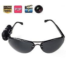 NEW HD 1080P Wide Range Wearable Camera Sunglasses Spy Hidden Camera Video Record Photograph