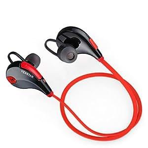Generic QY7 Bluetooth V4.1 Wireless Headphones with Mic - Black