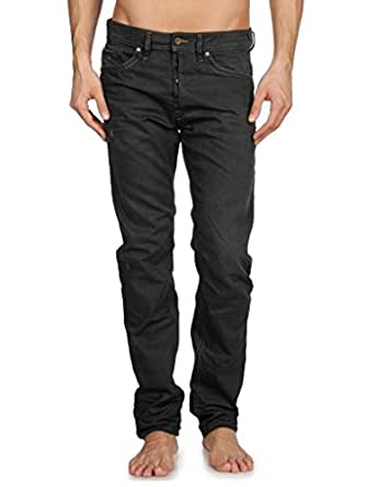 Mens Diesel BRADDOM 0806Z Relaxed Jeans - Black Grey Denim Size W32 x L32