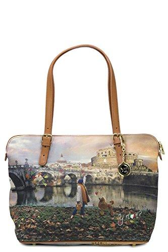 Bag 377 Ynot Donna K Unica Medium Roma Shopping Borsa gnTvxzS