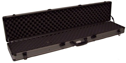 ADG Sports Aluminum Single Rifle Gun Case (Aluminum Rifle Case Airline)