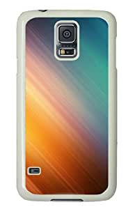 Color motion Custom Samsung Galaxy S5/Samsung S5 Case Cover Polycarbonate White